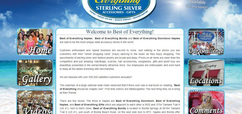 Best of Everything Website