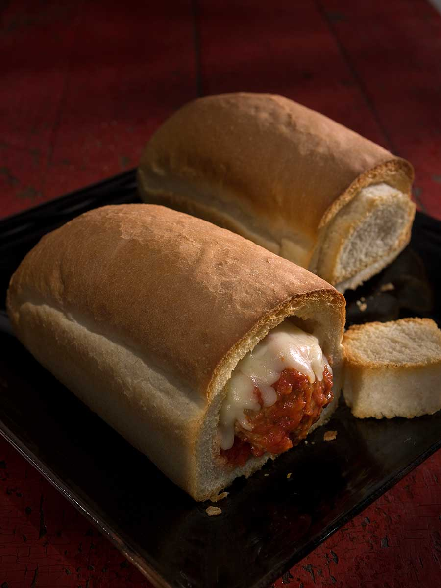 Meatball Loaf Mangion's Pizzeria Naples