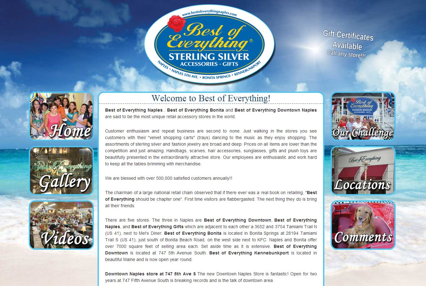 Best of Everything Homepage Graphic